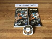 Star Wars: Lethal Alliance (Sony Playstation PSP, 2006) Complete - CIB - Tested