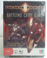 Iron Man battling card game new