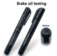 Car Brake Fluid Tester DOT3 DOT4 LED Indicator Vehicle Auto Automotive Test Pen