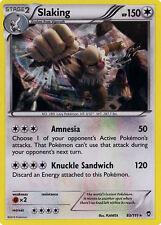 4X Pokemon Furious Fists Slacking 83/111 Rare Holo Card