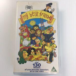 My Best Friends VHS Video Cassette Tape Vintage Classic Childrens TV Shows