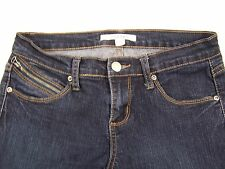 21 Denim Jeans Stretch Taper Womens Color Dark Size 27x32