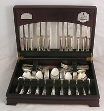 DUBARRY Design GEORGE BUTLER Kitemark Silver Service 84 Piece Canteen of Cutlery