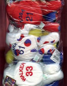 Salvino Bammers Set Baseball Stuffed Animal Bear Mark McGwire Sammy Sosa Doll