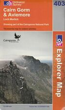 Cairn Gorm & Aviemore Map Ordnance Survey, 2007 map 403