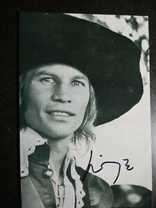 MICHAEL YORK Authentic Hand Signed Autograph 4X6 PHOTO - THE THREE MUSKETEERS