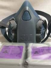 3M™ Half Facepiece 7502 (Medium) + 1 pair 7093CN Particulate Filter
