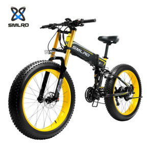 Electric Bikes 1000W 48V Fat 26 Inch Bicycle Ebike Mountain Foldable Motorcycle