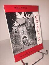 Cordes. Notice historique et archéologique par Charles Portal