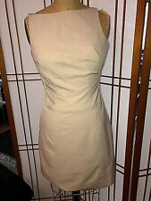 NWT CHAIKEN & CAPONE  Beige Dress Sz. 4 purchased at Barneys New York in 2001