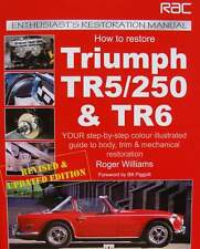 LIVRE/BOOK : RESTAURATION MANUEL TRIUMPH TR5/250 & TR6 (restoration manual,