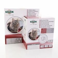 Petsafe Staywell Microchip Cat Flap With A Glass Adaptor