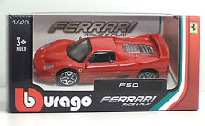 "Bburago 36000 FERRARI F50 ""Rossa"" - METAL 1:43 Race&Play"