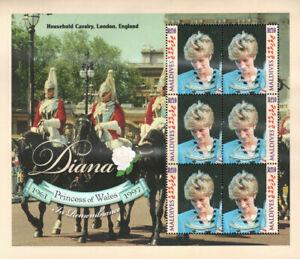 "MALDIVES - 1997 MNH ""Princess Of Wales - DIANA"" Souvenir Sheet !!!"