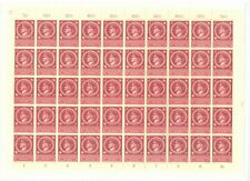 Germany 1944 Hitlers 55th Birthday sg.875 in complete sheet of 50 MNH