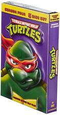 Teenage Mutant Ninja Turtles Season 4 Original Series 1987 DVD TMNT Cartoon Set