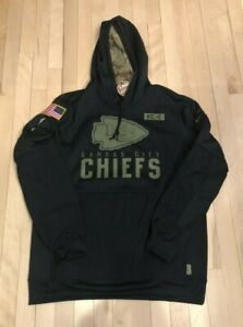 Nike Kansas City Chiefs 2020 Salute to Service Hoodie Men's LARGE NWT