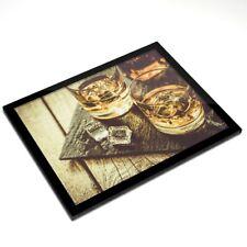 Mantel Individual De Cristal 20x25 Cm-vasos de beber whisky Whisky Alcohol #16212