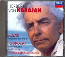 MOZART - Symphonies 40 & 41 / TCHAIKOVSKY - Romeo & Juliet - Herbert Von KARAJAN