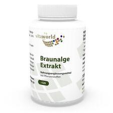 Extrait d'algue brune 500mg 120 Capsules Vita World
