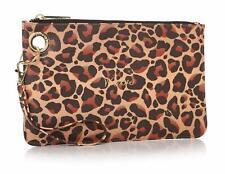 Shruti Meow Leopard Skin Design Pouch Handbag Clutch Makeup Bag 87659