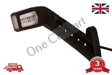 LED de luces de posición lateral Contorno Tallo Indicador de camión con acoplado Lámpara 12/24V izquierda