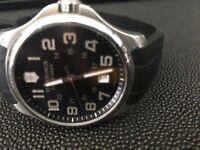 Victorinox Swiss Army Watch Swiss Made Sapphire Crystal 241357 Rubber Band