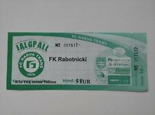 2011 Europa League Narva trans-fc Rabotnicki Skopie Ticket