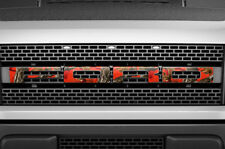 F150 SVT Raptor Ford Grill Insert Graphics Stickers Decals 2010-2014 FIRE CAMO