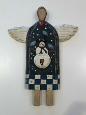 Ilona Steelhammer Original Folk Art Angel Signed No Base