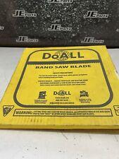 Doall Band Saw Blade 12 X 025 4tpi