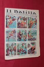 rivista a fumetti IL BALILLA Supplemento Popolo d'Italia ANNO XIII N.24 (1935)
