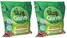 2 BAGS  Vitax Organic Highly Effective Slug Gone Slug & Snail Wool Pellets 3.5L