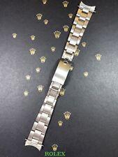 "Rolex Date Midsize Oyster 17mm Band Bracelet 7835 Steel ""262"" Ends"
