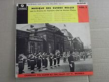 """MUSIQUE DES GUIDES BELGES - CHANGING GUARD PALAIS ROYAL BRUSSELS 10""""LP"""