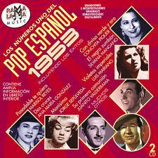 LOS Nº1 DEL POP ESPAÑOL 1953 -2CD
