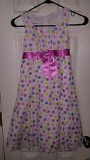 NWT * BONNIE JEAN * Girls Polka Dot * Dress Size 6x * MSRP $49.99 * BEST OFFER
