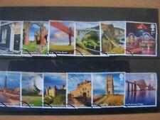 GREAT BRITAIN,2011,UK-A-Z,1ST SERIES,12 VALS,VFU,CAT £15,EXCELLENT.