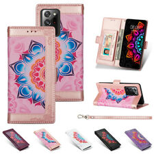 For Samsung S20 FE Note20 Ultra S10 S9 8 Plus Case Leather Wallet Card Cover