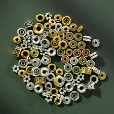 100 Pcs Spacer Beads Art Charm Spacers Alloy Spacer Beads for Jewelry Making Diy