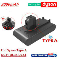 22.2V 3.0Ah Vacuum Battery for Dyson DC44 DC34 DC35 DC31 Animal Exclusive Type A