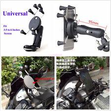Motorcycle Bike Handlebar X-Shape 6 Feet 3.5-6 Inch Mount Holder For Cell Phones