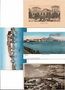 Italy Naples Napoli Postcard Lot of 8  01.15