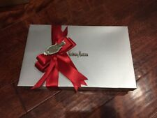 "Collectible Neiman Marcus ""Red"" Gift Tag Given With Joy Shirt Box Tissue Present"