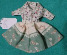 Cream & Green Dress w Flowers for Skipper New Stacie Monster High Dolls Skgl73
