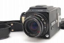 【Exc++++】 Hasselblad 500 CM Black C/M w/C 80mm F/2.8 A12 II From Japan #1713