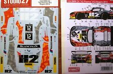 DECAL: 1/24 S271053 2014 H2 PHARMA BMW Z4 GT3