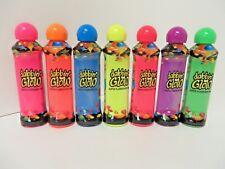 Set of 7- Dabbin Glow Bingo Daubers - super Fluorescent 3 ounce bingo markers