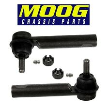 For Toyota Corolla Matrix Pair Set of Outer Steering Tie Rod Ends MOOG ES800525