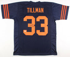 Charles Peanut Tillman Signed Chicago Bears Color Rush Jersey (JSA COA)